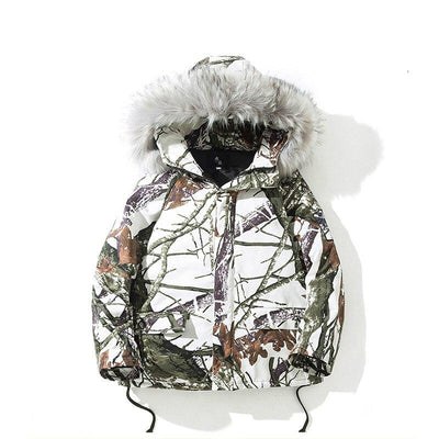 Street Wear Parka Camo | Japan Urban Wear HHP