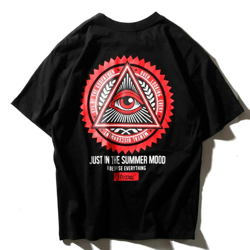 Street Wear T-Shirt Illuminati | Japan Urban Wear