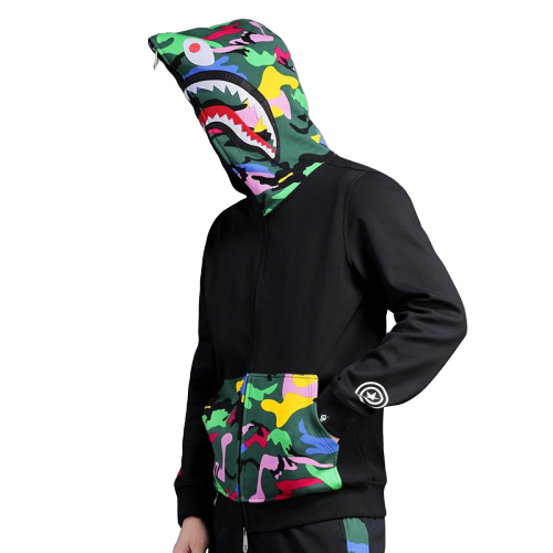 SWEAT SHARK MULTICOLOR type SUPREME