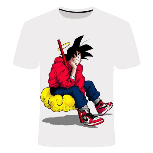 T-Shirt Dragon Ball Goku Nuage Magique