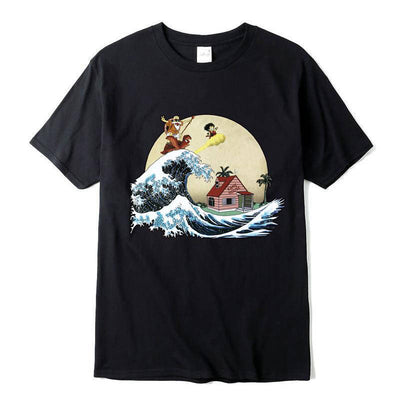 T-Shirt Dragon Ball Kame x Harajuku
