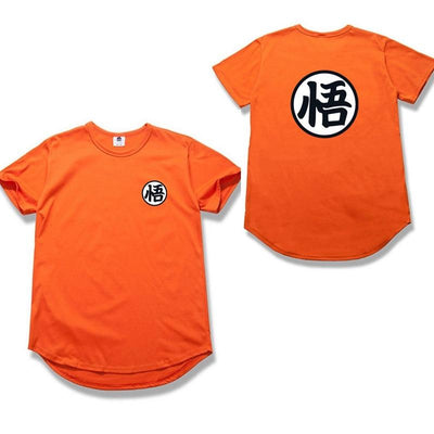 T-Shirt Dragon Ball Z Orange Goku ou Kame
