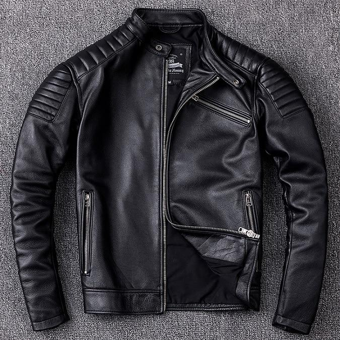 Veste en Cuir Biker édition Copper type REDSKINS