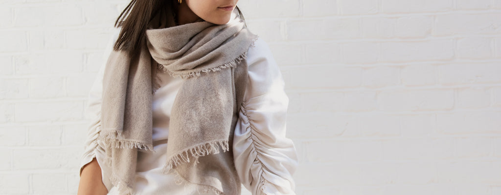 8 GREAT REASONS TO INVEST IN A CASHMERE WRAP OR SCARF