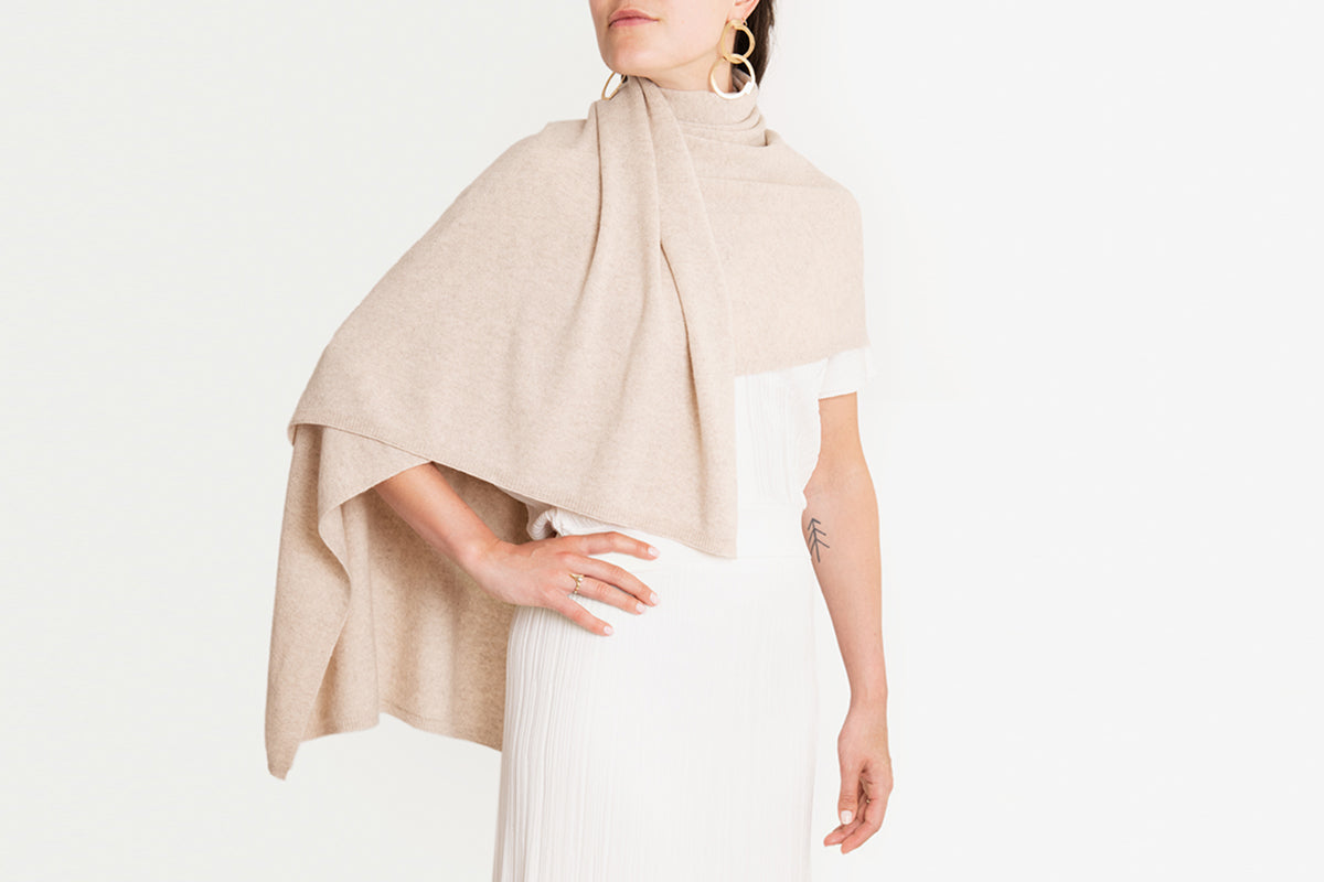 High necked wrap