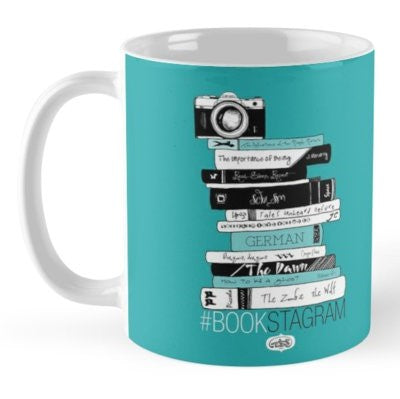 Hashtag Bookstagram Coffee Mug - MyDoodlesAteMe