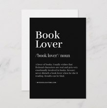 Load image into Gallery viewer, Bibliophile & Book Lover Bookish Postcards (Set of Two) - MyDoodlesAteMe