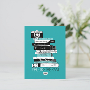 Hashtag Bookstagram Postcards (Set of Two) - MyDoodlesAteMe