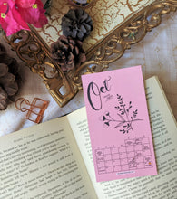 Load image into Gallery viewer, Bookmark of the Month' - 2020 Monthly Calendar Bookmarks (Set of Twelve Bookmarks/Notecards) - MyDoodlesAteMe