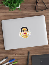 Load image into Gallery viewer, Devi ~ Own Your Inner Goddess Woman Laptop Sticker - MyDoodlesAteMe