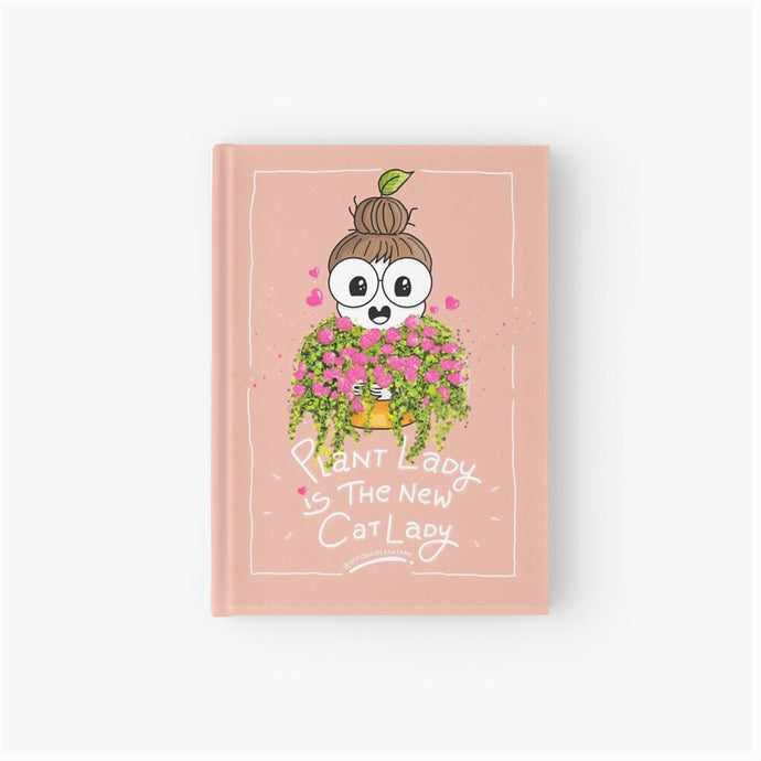 'Plant Lady is the New Cat Lady' Softcover Dot-Grid Journal