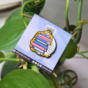 Dreams Really Do Come True Bookish Enamel Pin