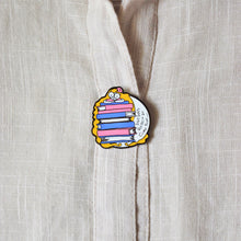 Load image into Gallery viewer, Injured Goodies > Dreams Really Do Come True Bookish Enamel Pin