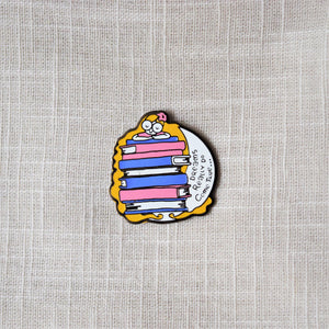 Injured Goodies > Dreams Really Do Come True Bookish Enamel Pin