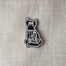 Load image into Gallery viewer, Feline Approved Enamel Pin - MyDoodlesAteMe