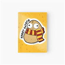 Load image into Gallery viewer, Harry Potato Softcover Journal - MyDoodlesAteMe
