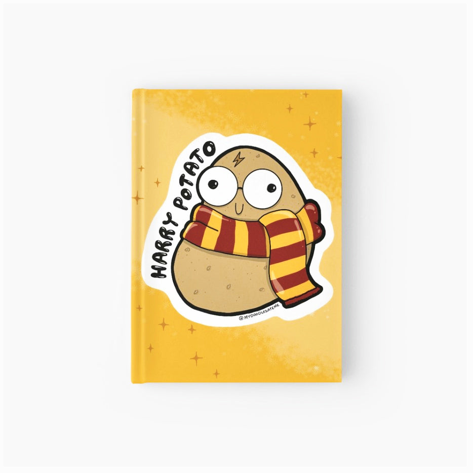 Harry Potato Softcover Journal - MyDoodlesAteMe