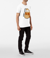 Load image into Gallery viewer, Harry Potato Unisex Premium Cotton T-Shirt (White) - MyDoodlesAteMe