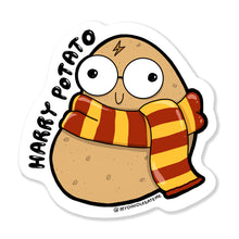 Load image into Gallery viewer, Harry Potato Laptop Sticker - MyDoodlesAteMe