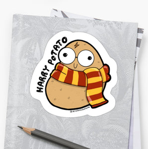 Harry Potato Laptop Sticker - MyDoodlesAteMe