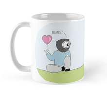 Load image into Gallery viewer, His & Hers Promise Couple Mugs (Set of Two) - MyDoodlesAteMe