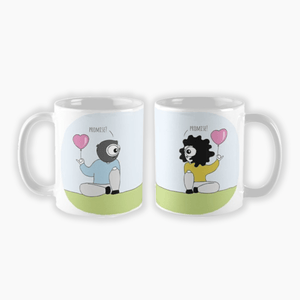 His & Hers Promise Couple Mugs (Set of Two) - MyDoodlesAteMe