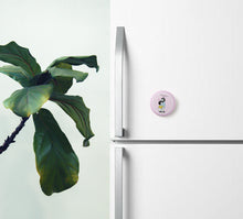 Load image into Gallery viewer, Your Hugs Recharge My Happy Pin Badge (+ Fridge Magnet) - MyDoodlesAteMe