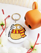 Load image into Gallery viewer, Harry Potato Hand Mirror & Keychain - MyDoodlesAteMe