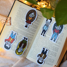 Load image into Gallery viewer, MyDoodlesAteMe 'The Best FRIENDS' Magnetic Bookmarks (Set of Six) - MyDoodlesAteMe