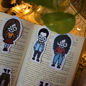 MyDoodlesAteMe 'The Best FRIENDS' Magnetic Bookmarks (Set of Six) - MyDoodlesAteMe