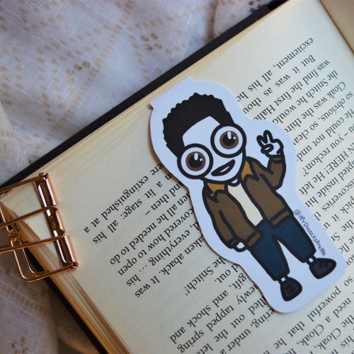 'The Best FRIENDS' Magnetic Bookmark - Ross