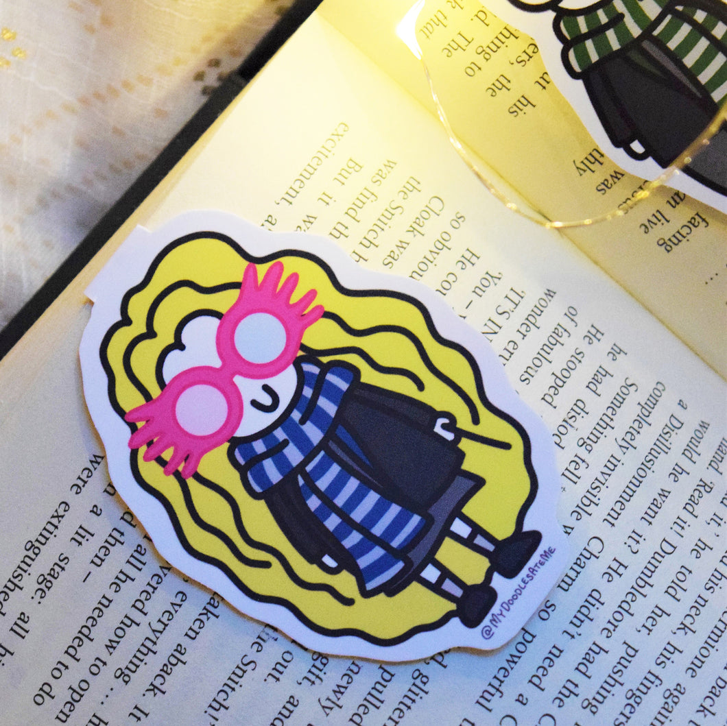 'The Witches & the Wizards' Magnetic Bookmark - Luna