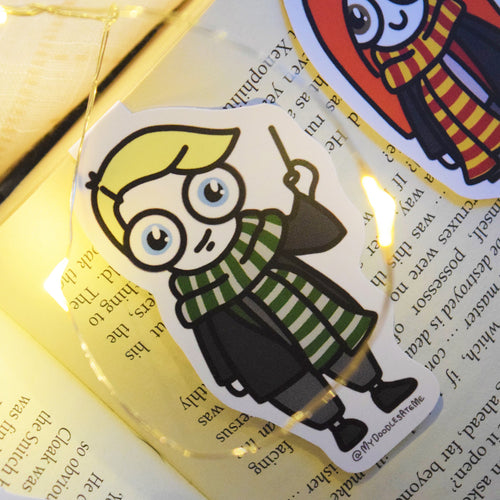 'The Witches & the Wizards' Magnetic Bookmark - Draco