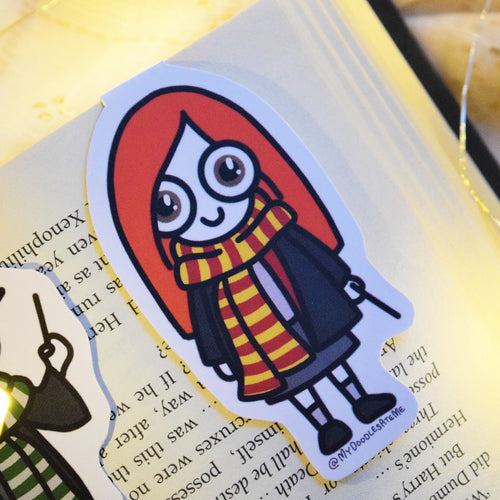 'The Witches & the Wizards' Magnetic Bookmark - Ginny