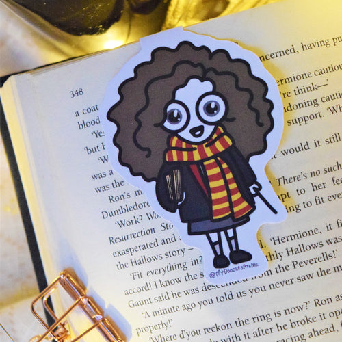 'The Witches & the Wizards' Magnetic Bookmark - Hermione