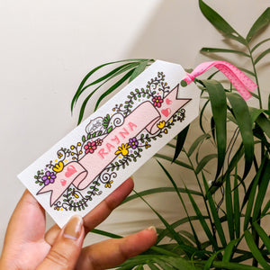 Personalized Custom Name Bookmarks (Set of 12) - MyDoodlesAteMe