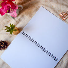Load image into Gallery viewer, Own it Behen Wire-O Notebook (Plain, 80 Pages) - MyDoodlesAteMe
