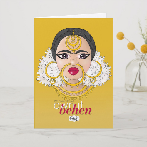 Own It Behen Greeting Card - MyDoodlesAteMe