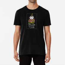 Load image into Gallery viewer, Plant Lady is the New Cat Lady Unisex Premium Cotton T-Shirt (Black) - MyDoodlesAteMe