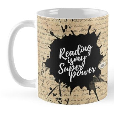 Reading Is My Superpower Coffee Mug - MyDoodlesAteMe