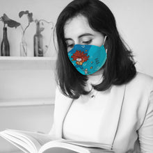Load image into Gallery viewer, You Got This! Bookish Illustrated Premium Face Mask