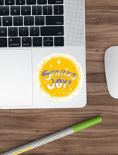 Load image into Gallery viewer, Sparks Joy Laptop Sticker - MyDoodlesAteMe