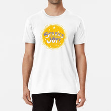 Load image into Gallery viewer, Sparks Joy Unisex Premium Cotton T-Shirt (White) - MyDoodlesAteMe
