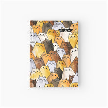 Load image into Gallery viewer, Gangsta Cats Softcover Journal - MyDoodlesAteMe
