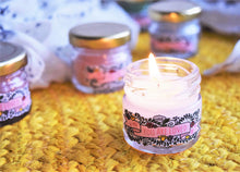 Load image into Gallery viewer, You Are Loved Mini Mason Jar Candles (Set of Two) - Peppermint & Sweet Orange - MyDoodlesAteMe