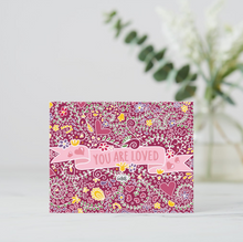 Load image into Gallery viewer, You Are Loved Postcards (Set of Two) - MyDoodlesAteMe