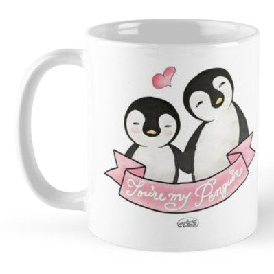 You're my Penguin Coffee Mug - MyDoodlesAteMe