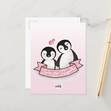 Load image into Gallery viewer, You're My Penguin Postcards (Set of Two) - MyDoodlesAteMe