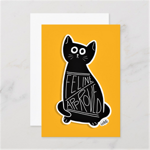 Feline Approved Postcards (Set of Two) - MyDoodlesAteMe