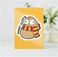 Load image into Gallery viewer, Harry Potato Postcards (Set of Two) - MyDoodlesAteMe